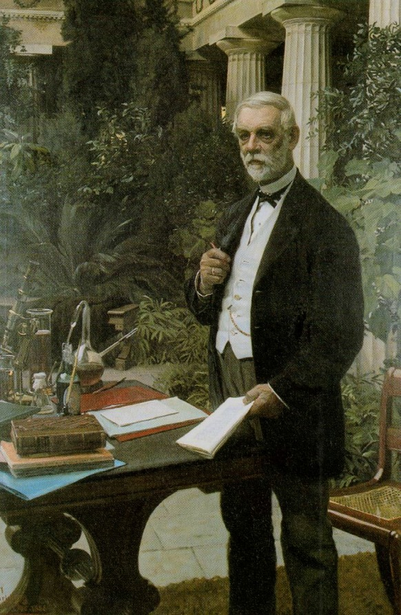 TRAS UNA CERVEZA HISTORICA: JAKOB JAKOBSEN y su hijoCarl.