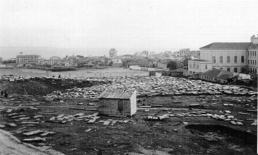 Hablando sobre el cementerio judío deSalónica