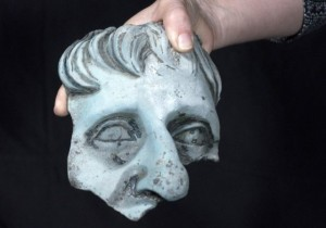 credit-Clara-Amit-courtesy-of-the-Israel-Antiquities-Authority-Fragment-of-a-life-size-head-of-a-statue.-e1463399396469