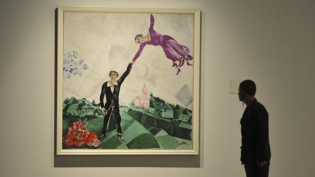 Chagall llega a la ciudad dePicasso