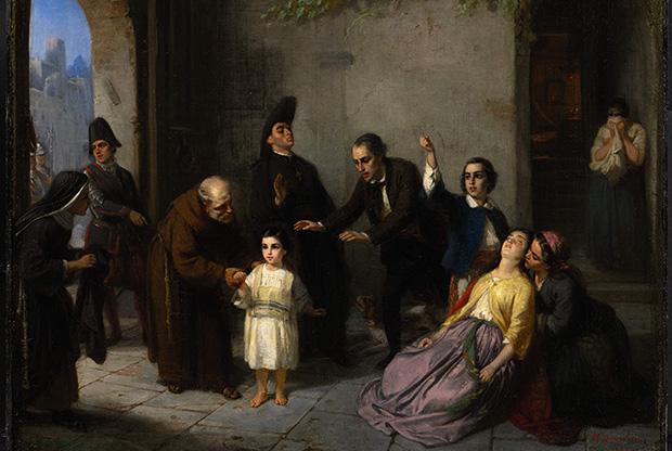 Edgardo Mortara, el niño judío que secuestró el Papa PíoIX