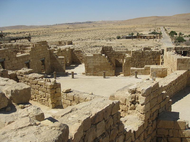 Mamshit, los nabateos del Neguev y la Ruta delIncienso