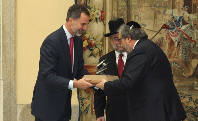 Felipe  VI, Premio Lord Jacobits 2016