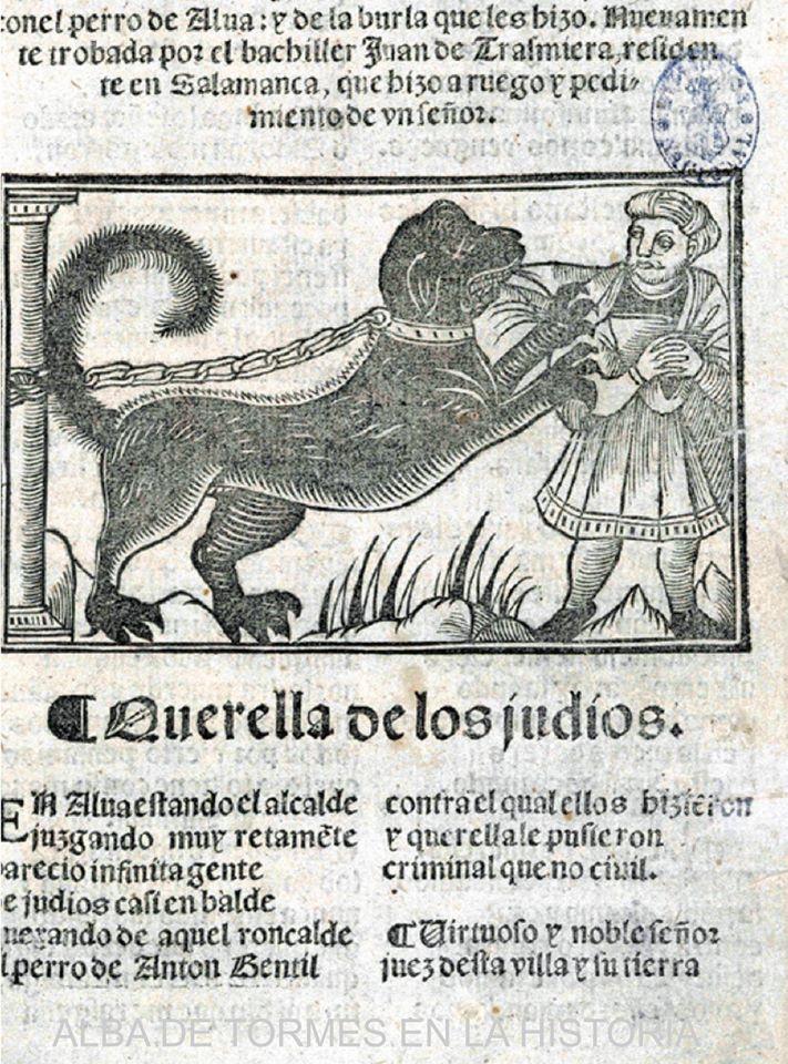 "Coplas del perro de Alba: el origen del ""perrojudío"""